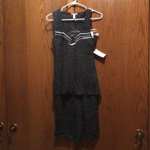 NWT sheer pajama set by Donna Nadeau size S